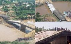 Cầu Trung Quốc sắp khánh thành đổ sập ở Kenya
