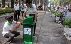 Lắp 1.000 thùng rác công cộng phân loại rác tại nguồn