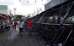 Vụ cháy chợ đêm Phú Quốc gây thiệt hại hơn 1 tỉ đồng