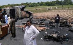 Vụ nổ xe xăng ở Pakistan: số người thiệt mạng đã lên 206