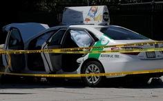 Mỹ: Tài xế taxi đạp nhầm chân ga làm 10 người bị thương