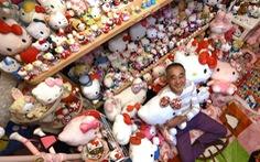 Cựu cảnh sát người Nhật sưu tầm nhiều Hello Kitty nhất thế giới