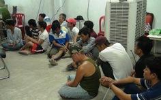 Gần 100 cảnh sát ập vô sới bạc trực tuyến ở TP.HCM