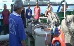 Bắt giữ 2 tàu buôn lậu dầu trên biển Phú Quốc