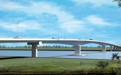Cuối năm 2017 khởi công xây dựng cầu Châu Đốc