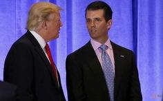 Con trai ông Trump từng gặp luật sư Nga thân điện Kremlin