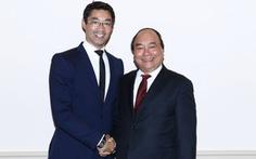 Thủ tướng gặp ông Philipp Roesler tại Hà Lan