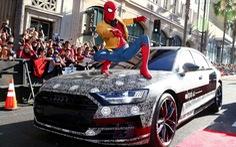 Công nghệ mới của Audi A8 trong Spider-Man: Homecoming