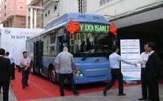 TP.HCM thêm xe buýt CNG 60 chỗ