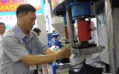 Nhiều công nghệ mới tại triển lãm quốc tế da giày