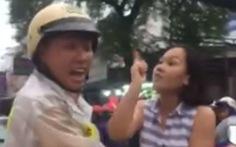 Chạy xe hơi sai làn, một phụ nữ thóa mạ, tấn công CSGT