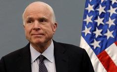 Thượng nghị sĩ MỹJohn McCain bị ung thư não