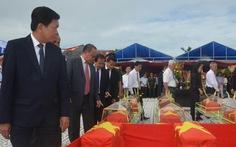 Long An truy điệu 21 liệt sĩ từ Campuchia
