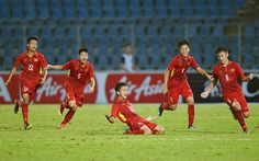 18h30 hôm nay (22-7): U-15 VN đá CK Đông Nam Á với Thái Lan