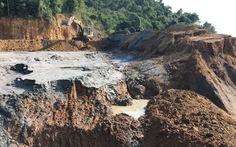 Phạt hơn 1 tỉ đồng công ty để vỡ đập bùn thải