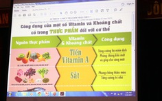 46 trường ở Hưng Yên triển khai thực đơn cân bằng dinh dưỡng