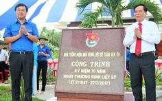 Khánh thành Nhà tưởng niệm Anh hùng liệt sĩ Trần Văn Ơn