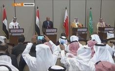 Bốn nước Ả rập lại chìa tay đàm phán với Qatar