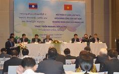 Việt Nam - Lào trao đổi kinh nghiệm để phát triển nhanh, bền vững