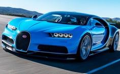 Bugatti Chiron dẫn đầu 10 siêu xe nhanh nhất thế giới 2017