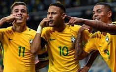 Điểm tin tối 10-8: Bóng đá Brazil trở lại vị trí số 1 thế giới
