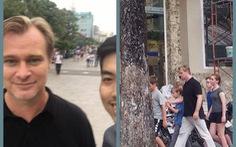 Đạo diễn bom tấn Dunkirk - Christopher Nolan đang ở Sài Gòn