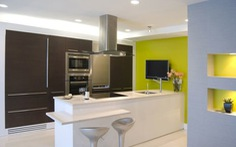 10 quy tắc phối màu cho gian bếp hứng khởi