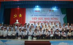 Tiếp sức 59 học sinh con nhà nông Long An