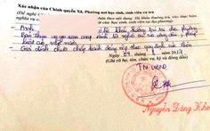 Lại 'bút phê' lý lịch sinh viên vì cha mẹ chậm góp tiền