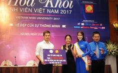 'Hoa khôi sinh viên Việt Nam 2017' tôn vinh vẻ đẹp thông minh
