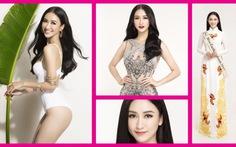 Á hậuĐại dương 2014 -Hà Thu - thi Hoa hậu Trái đất 2017