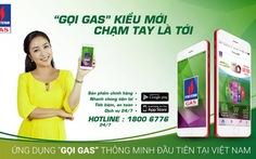 """27 tỉnh thành phía Nam nhận khuyến mãi ứng dụng """"Gọi Gas"""""""