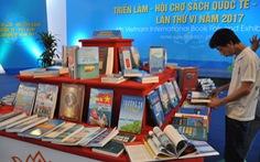 Khai mạc hội chợ sách quốc tế Việt Nam 2017