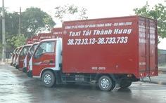 Hãng taxi tải dùng đầu số 1800 làm tổng đài