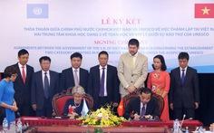 UNESCObảo trợ hai trung tâm khoa học tại Việt Nam