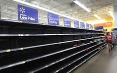 Dân Mỹ vét sạch siêu thị phòng cơn bão mạnh nhất
