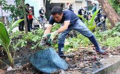 Người dân chung tay cùng 'Ngày chủ nhật CEP vì môi trường'