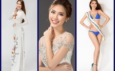 Hoa hậu sắc đẹp châu Á Tường Linh thi Hoa hậu liên lục địa 2017