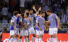 Điểm tin tối 10-9: Đá bại Deportivo, Sociedad bằng điểm với Barca