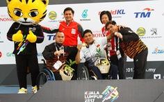 Thanh Tùng giành 3 HCV, phá 2 kỷ lục ASEAN Para Games