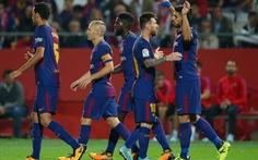 Barca thắng đậm nhờ 2 bàn phản lưới nhà của Girona