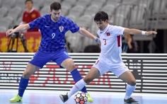 Futsal VN thua Croatia 1-3