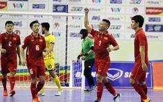Futsal VN thắng đậm Brunei 18-0