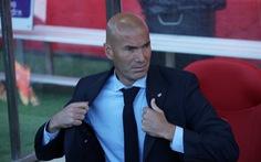 HLV Zidane không lo lắng sau thất bại trước Girona
