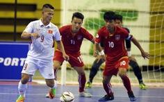 Tuyển futsal VN gặp Malaysia ở bán kết