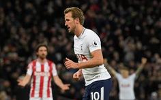 Kane tỏa sáng, Tottenham thắng dễ Stoke
