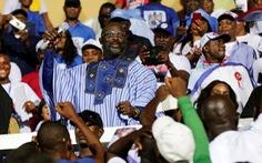 Quả bóng vàng 1995 đắc cử tổng thống Liberia