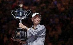 Thắng Halep, Wozniacki lần đầu vô địch Grand Slam