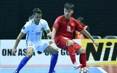 Futsal VN thua Malaysia khi trận đấu chỉ còn 2 giây