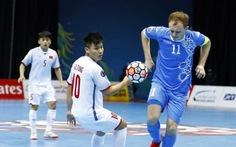 Clip những tình huống đáng chú ý trận futsal VN thua Uzbekistan